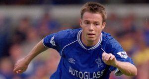 17 Sep 2000: Graeme Le Saux of Chelsea in action during the FA Carling Premiership match against Leicester City at Stamford Bridge in London. Leicester City won the match 2-0. Mandatory Credit: Dave Cannon /Allsport