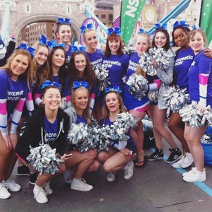 UAL's cheerleading squad The Royals