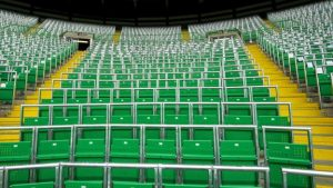Celtic's safe standing section