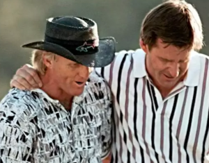Norman and Faldo