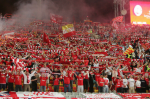 Liverpool fans in Istanbul 2005