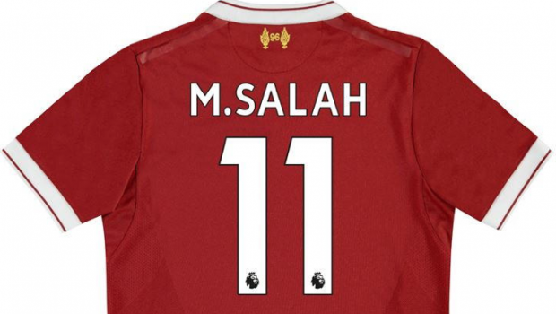 Mo Salah Liverpool shirt
