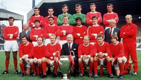 Man Utd's 1968 European Cup winning team