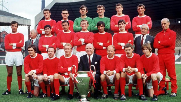Man Utd's 1968 European Cup winning team